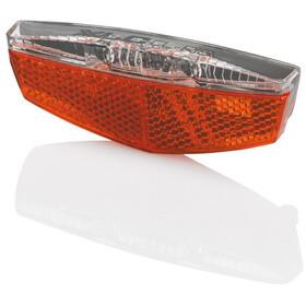 XLC Porte-bagages - Éclairage vélo - réflecteurs inclus pour V.A.E. rouge